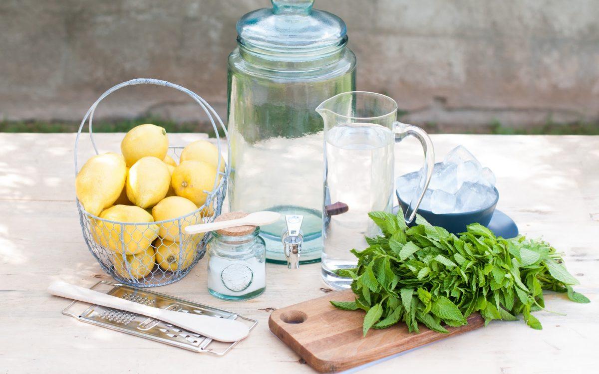 DIY-Limonada casera