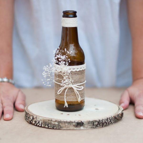 DIY - Botella decorada